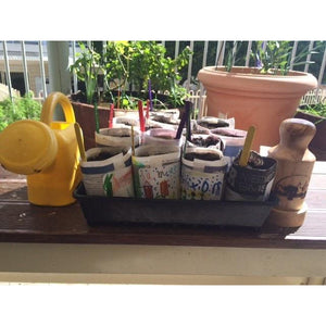 Urban Revolution Australia Wooden Newspaper Pot Maker - Pine - Rippa Woodturning Garden