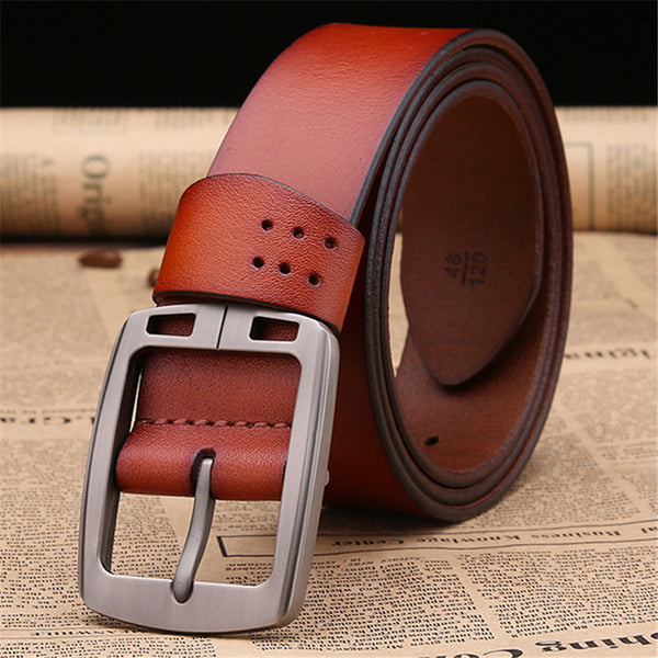 Haviat Brown Leather Belt