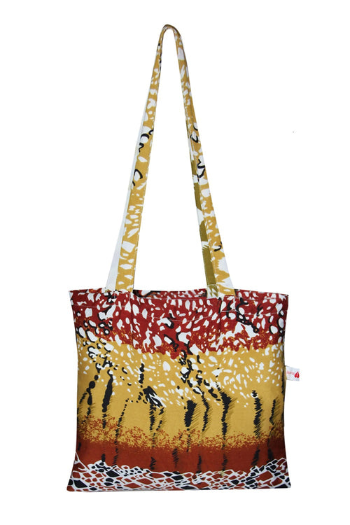 Tote Bag (Pack of 6 Assorted Tiger Designs)