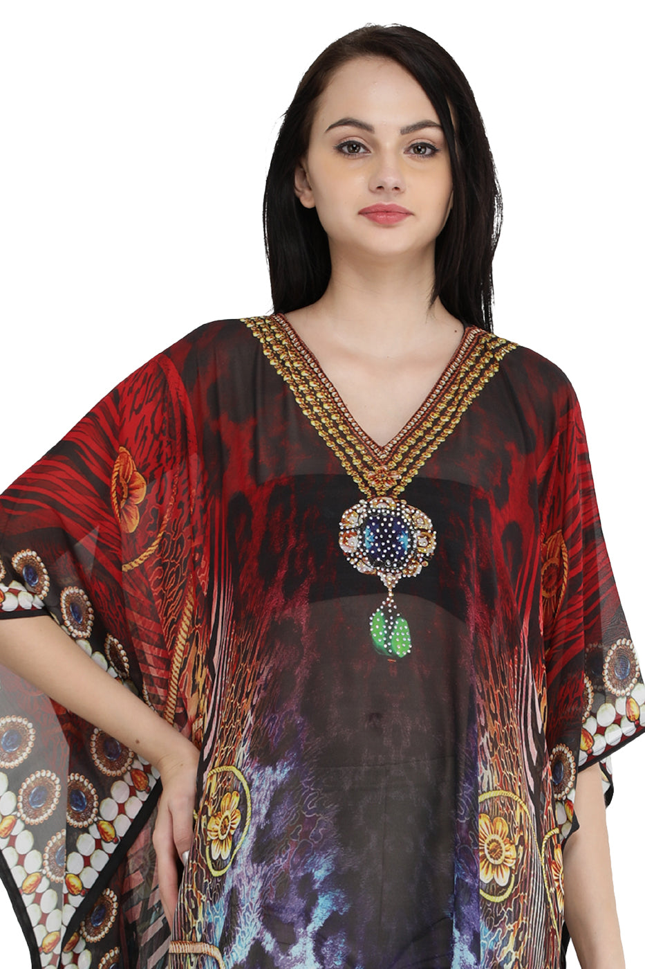 Digital Long Kaftan