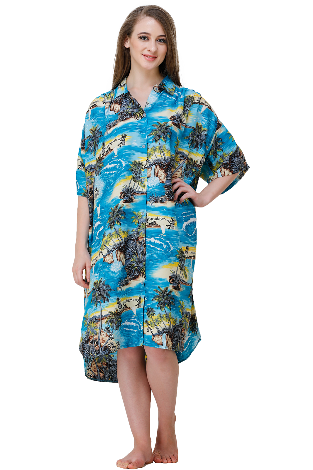 Ladies Beach Shirt