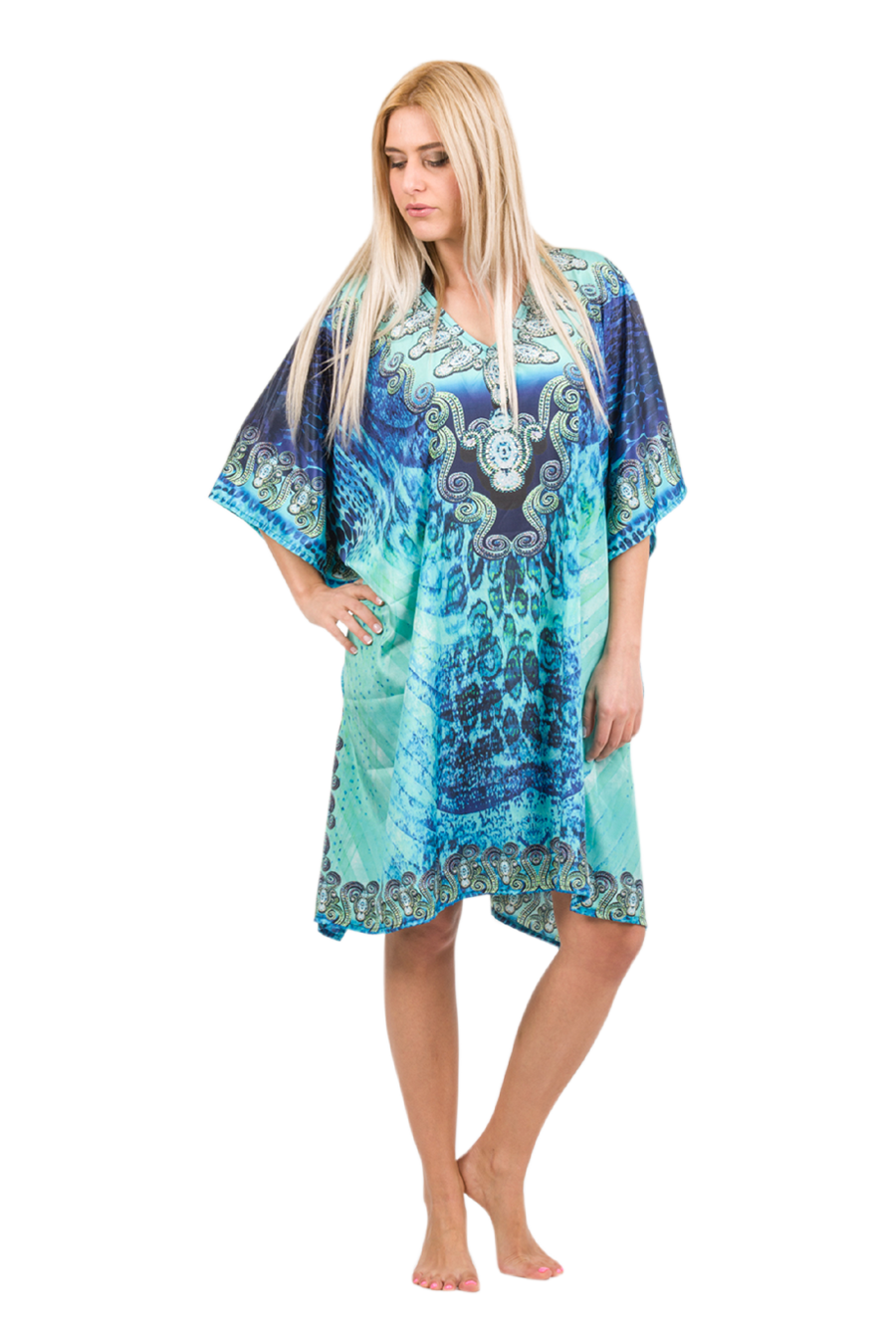 Digital Short Kaftan