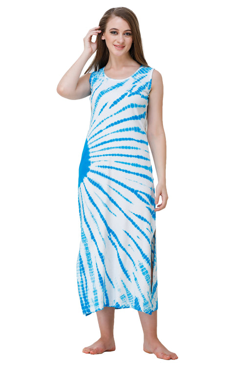 Cotton Jersey Long Dress