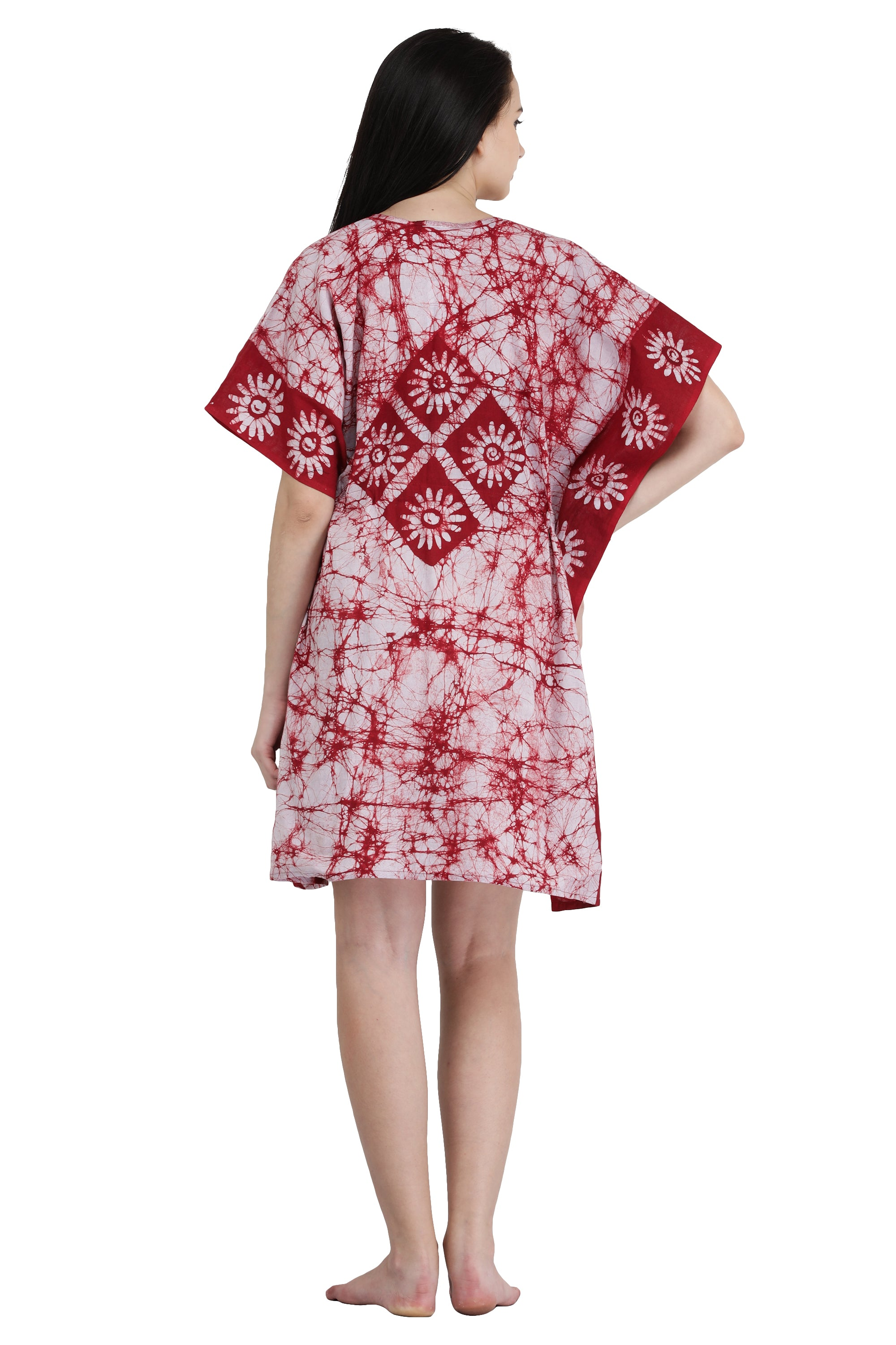 Cotton Batik Short Kaftan