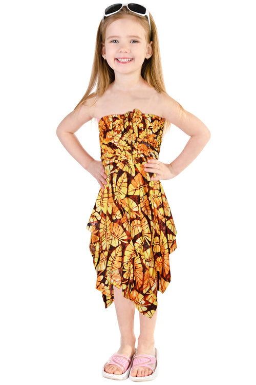Girls Popcorn Dress