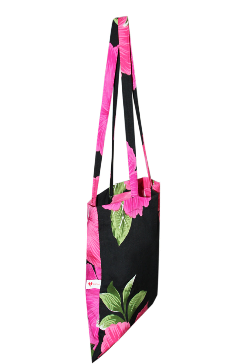 Tote Bag (Pack of 6 Assorted Flower Designs)