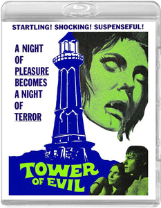 Tower of Evil (Blu-ray): Ronin Flix - Reversible Cover