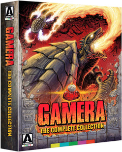 Gamera: The Complete Collection (8 Disc Set) (Blu-ray): Ronin Flix