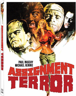 Assignment Terror (Blu-ray): Ronin Flix - Slipcover