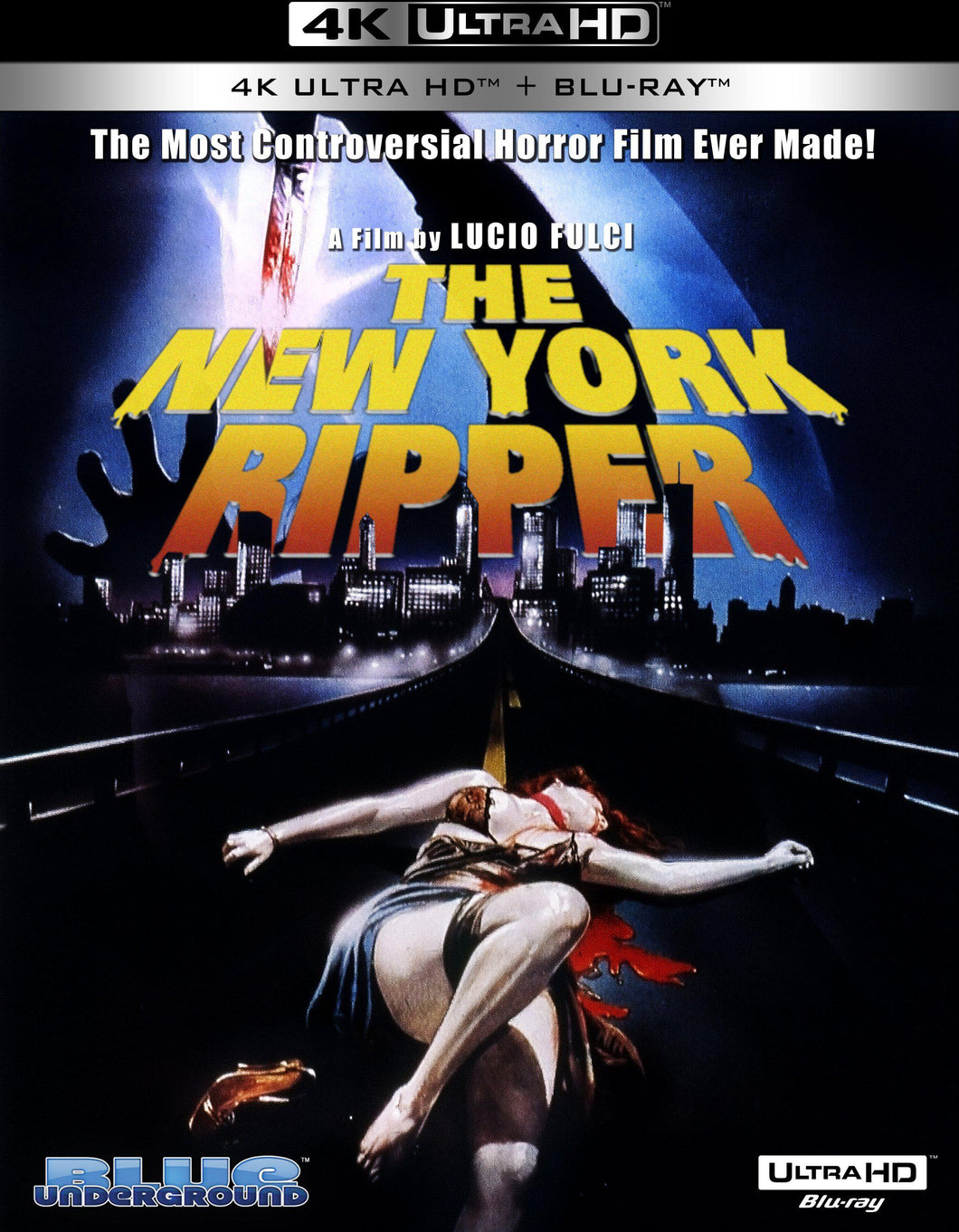 The New York Ripper 4K UHD (2 Disc Set) (Blu-ray): Ronin Flix