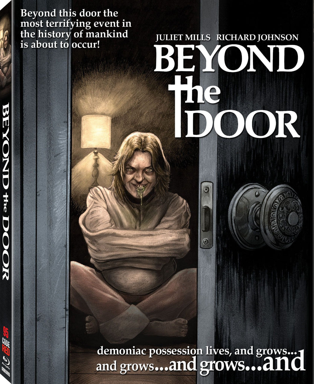 Beyond the Door (Blu-ray): Ronin Flix - Slipcover