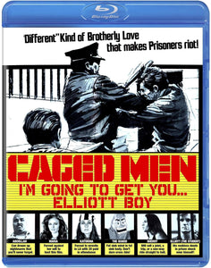 Caged Men (Blu-ray): Ronin Flix