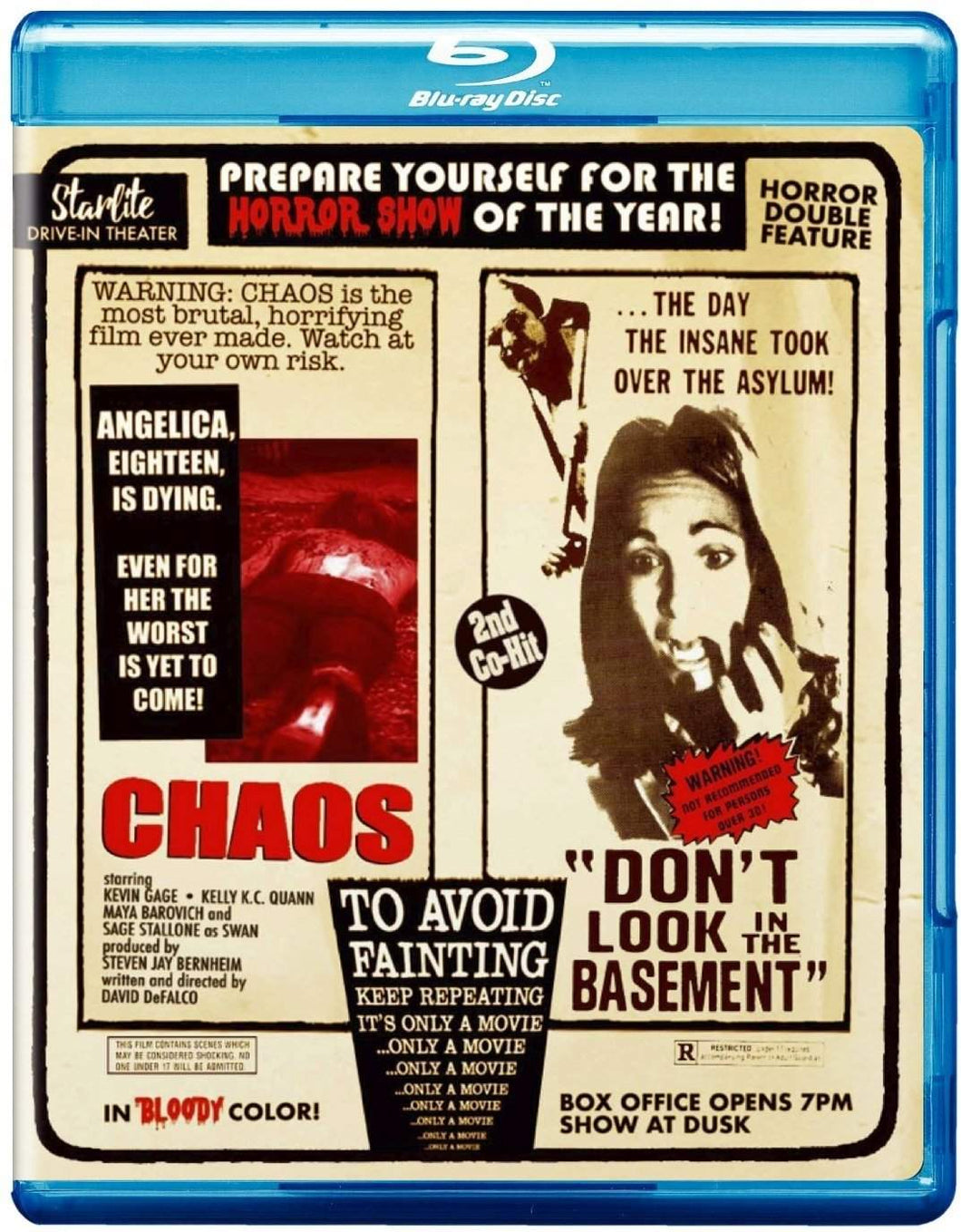 Chaos / Don't Look in the Basement (Blu-ray): Ronin Flix