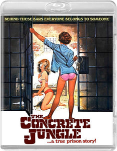 The Concrete Jungle (Blu-ray): Ronin Flix - Reversible Cover
