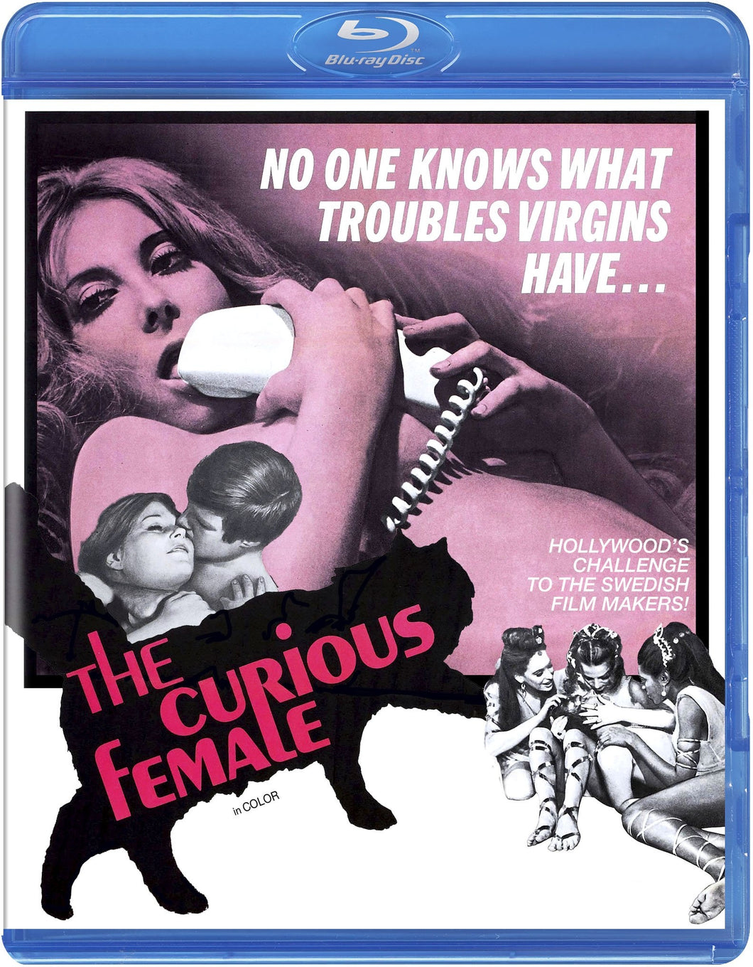 The Curious Female (Blu-ray): Ronin Flix