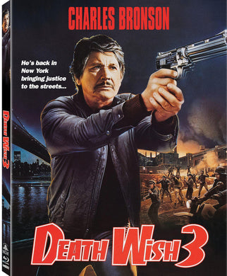 Death Wish 3 (Blu-ray): Ronin Flix - Slipcover