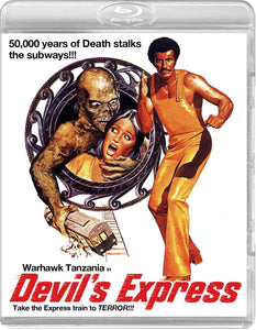 Devil's Express (Blu-ray): Ronin Flix - Reversible Cover