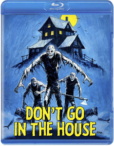 Don't Go in the House (Blu-ray): Ronin Flix - Reversible Cover