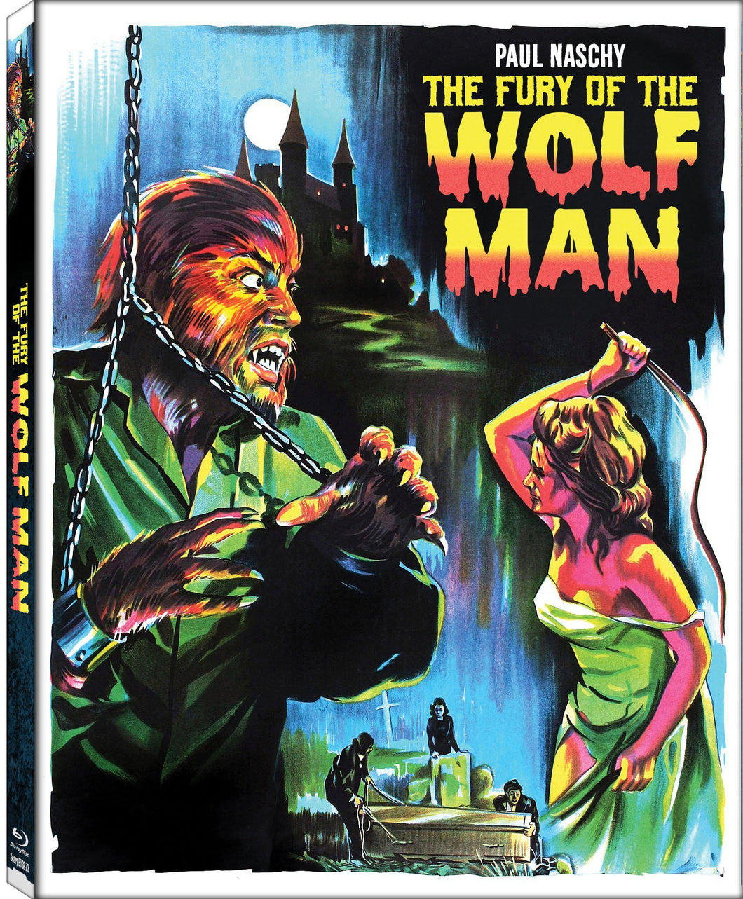 The Fury of the Wolfman (Blu-ray): Ronin Flix - Slipcover