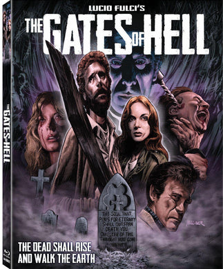 The Gates of Hell (Blu-ray): Ronin Flix - Slipcover
