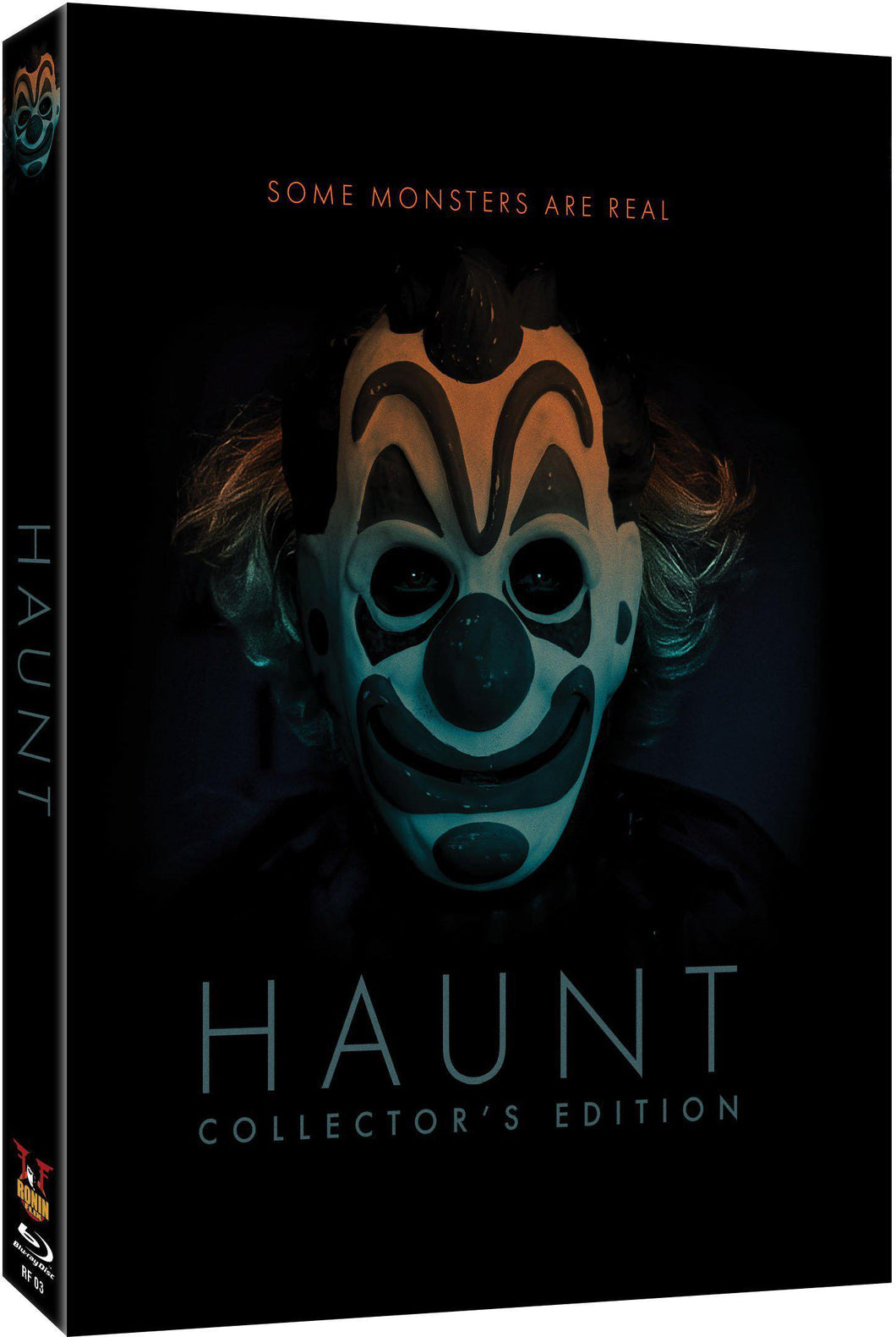 Haunt Collector's Edition Blu-ray (2 Disc Set): Ronin Flix - Slipcover