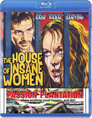 The House of Insane Women / Passion Plantation (Blu-ray): Ronin Flix