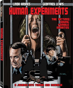 Human Experiments (Blu-ray): Ronin Flix - Slipcover