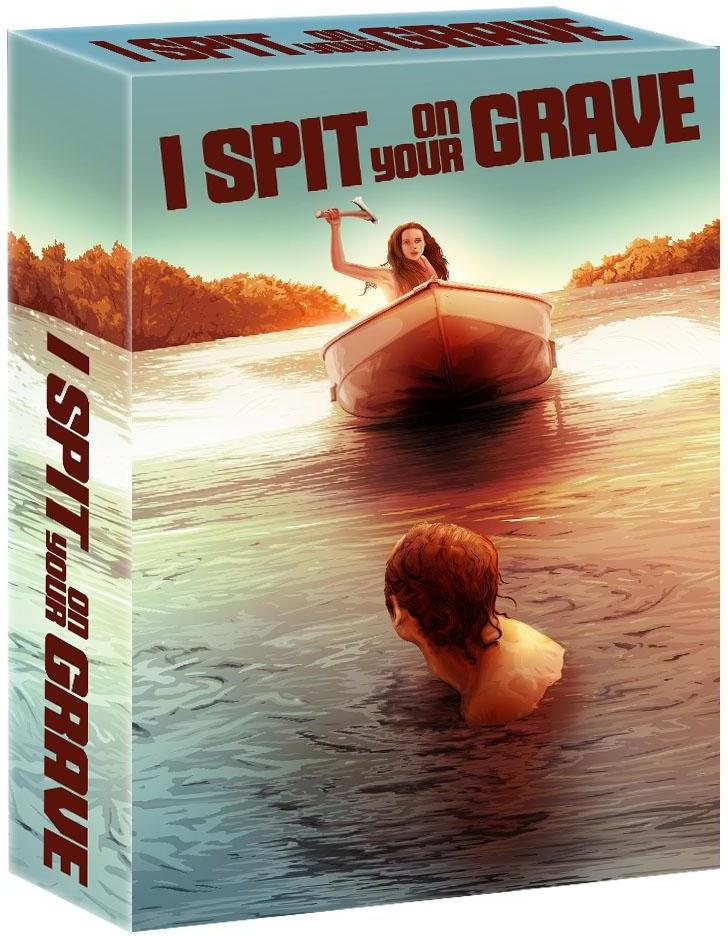 I Spit on Your Grave Blu-ray Box Set (3 Disc Set): Ronin Flix - Deluxe Custom Slipcase