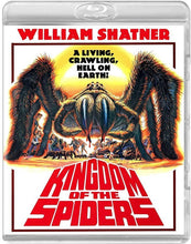 Load image into Gallery viewer, Kingdom of the Spiders (Blu-ray): Ronin Flix - Reversible Cover