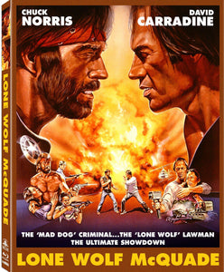 Lone Wolf McQuade (Blu-ray): Ronin Flix - Slipcover