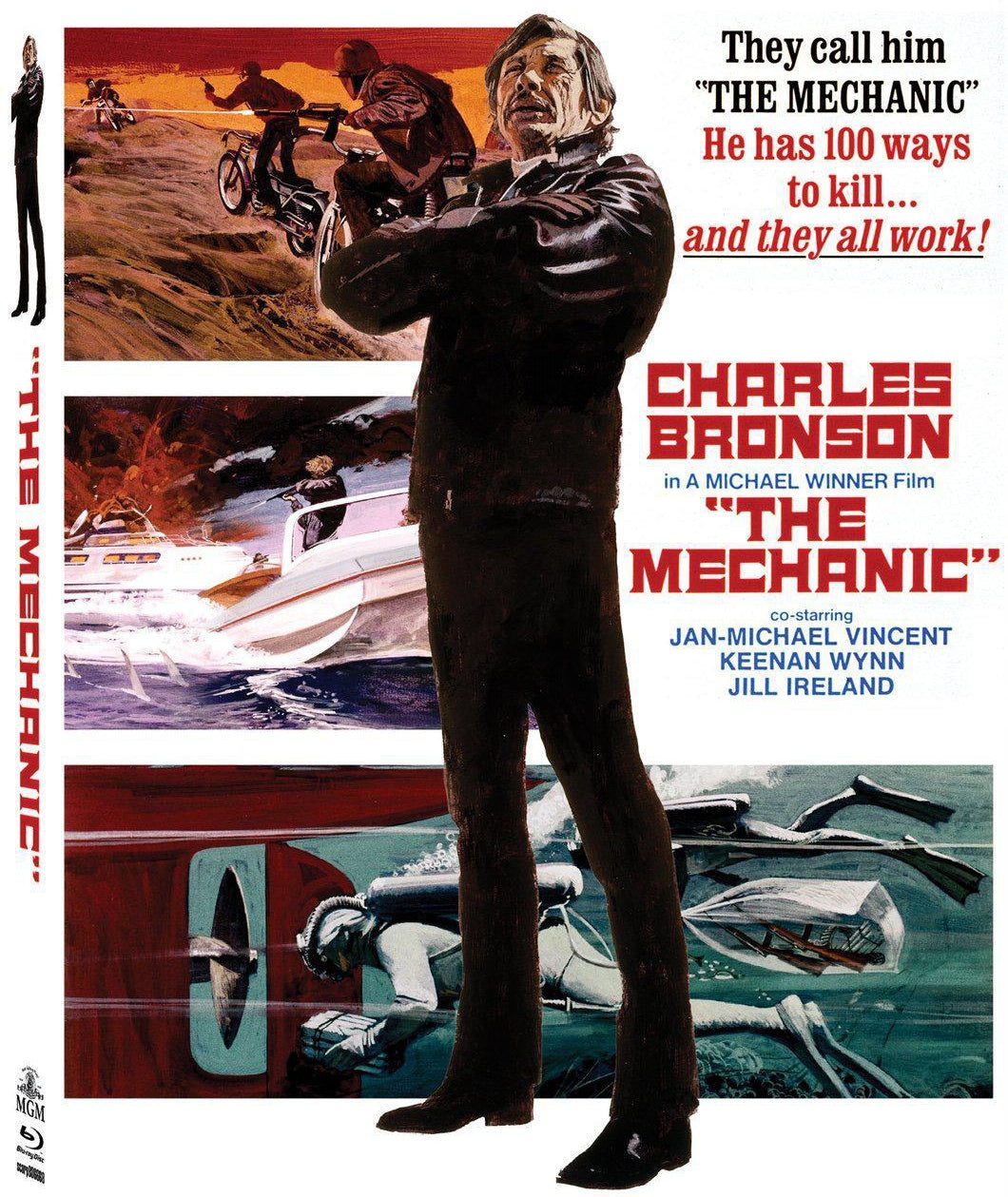 The Mechanic (Blu-ray): Ronin Flix - Slipcover
