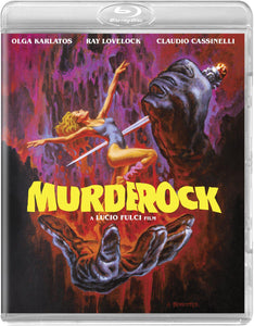 Murder Rock (Blu-ray): Ronin Flix - Reversible Cover