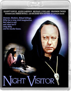 Night Visitor (Blu-Ray): Ronin Flix - Reversible Cover