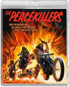 The Peacekillers (Blu-ray): Ronin Flix - Reversible Cover