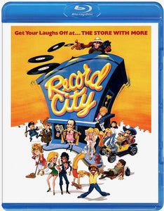 Record City (Blu-ray): Ronin Flix