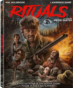 The Rituals (Blu-ray): Ronin Flix - Slipcover