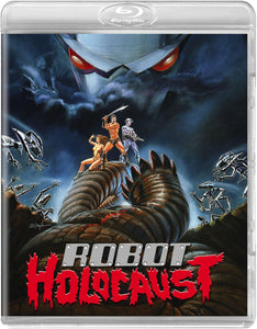 Robot Holocaust (Blu-ray): Ronin Flix - Reversible Cover