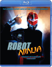 Load image into Gallery viewer, Robot Ninja (Blu-ray): Ronin Flix - Reversible Cover