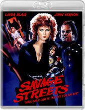 Load image into Gallery viewer, Savage Streets (Blu-ray): Ronin Flix - Reversible Cover