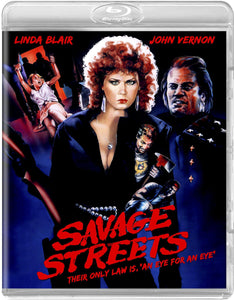 Savage Streets (Blu-ray): Ronin Flix - Reversible Cover