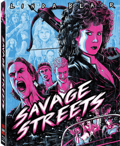 Savage Streets (Blu-ray): Ronin Flix - Slipcover