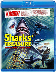 Sharks' Treasure (Blu-ray): Ronin Flix