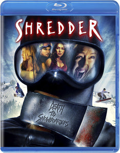 Shredder (Blu-ray): Ronin Flix - Reversible Cover