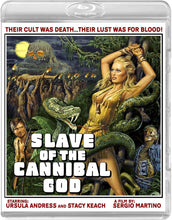 Slave of the Cannibal God (Blu-ray): Ronin Flix - Reversible Cover