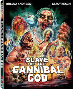 Slave of the Cannibal God (Blu-ray): Ronin Flix - Slipcover