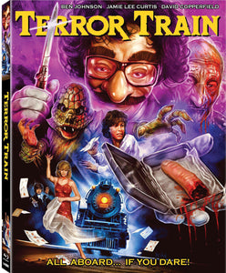 Terror Train (Blu-ray): Ronin Flix - Slipcover