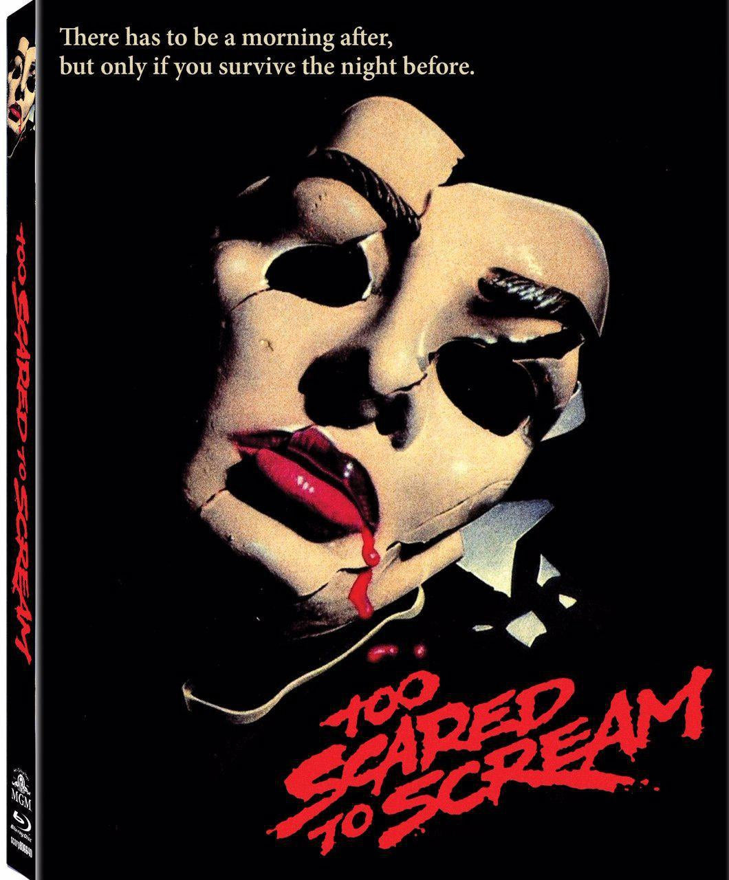 Too Scared to Scream (Blu-ray): Ronin Flix - Slipcover