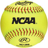 Rawlings 12u 18 recreational softballs w bucket