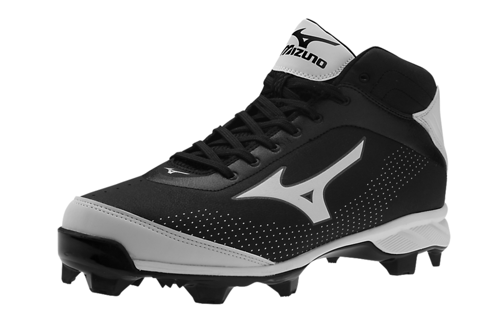 Mizuno 320445 Men's 9-Spike Advanced Blaze Elite 5 Mid Cleats