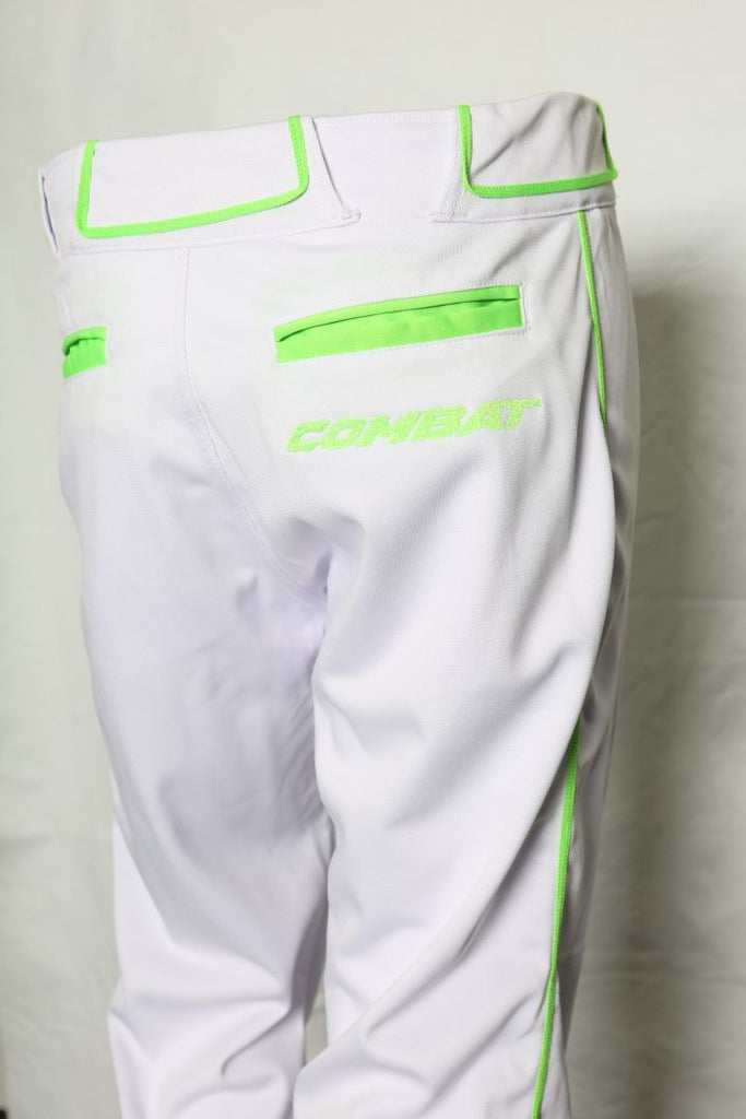 Premium Stock Pant White/Lime